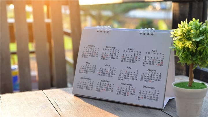 Kalender; uitstel verlenen