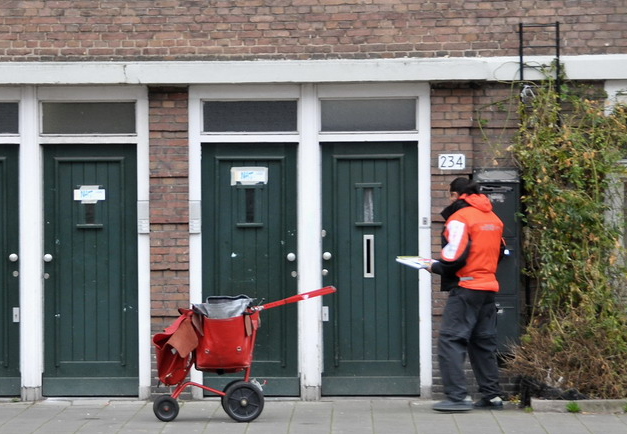 uitleg postbezorging