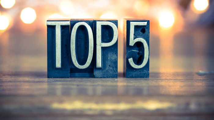 Top 5 2019 fiscale downloads