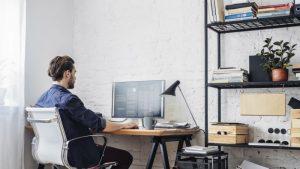 werkruimte thuis; Belastingdienst