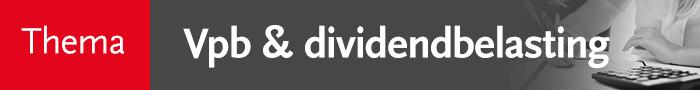Vpb en dividendbelasting